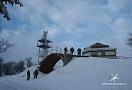 .. patka horní stanice lanovky na Bouřňáku (890 m) před příletem Mi-8 ...