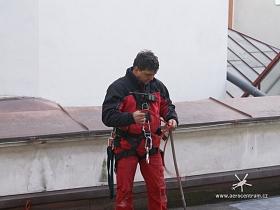 Vazač, instruktor výškových prací, Pavel Novák.