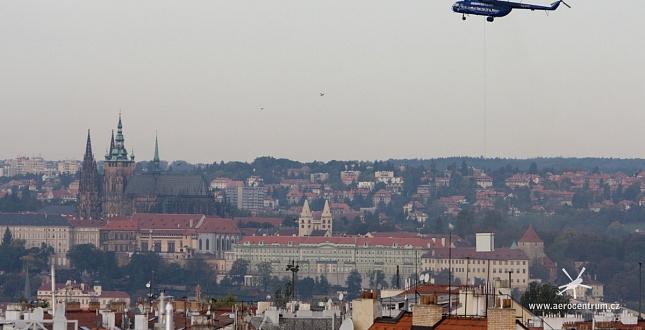 Praha Vinohradská - kontejner T-Mobile