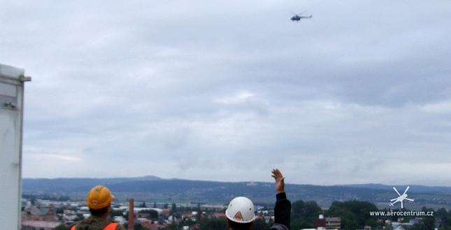 Doprava technologických kontejnerů GSM v Olomouci