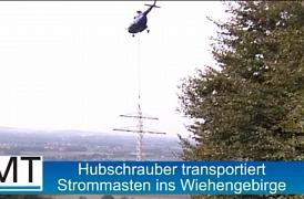 Modernizace sítě vysokého napětí Minden Německo